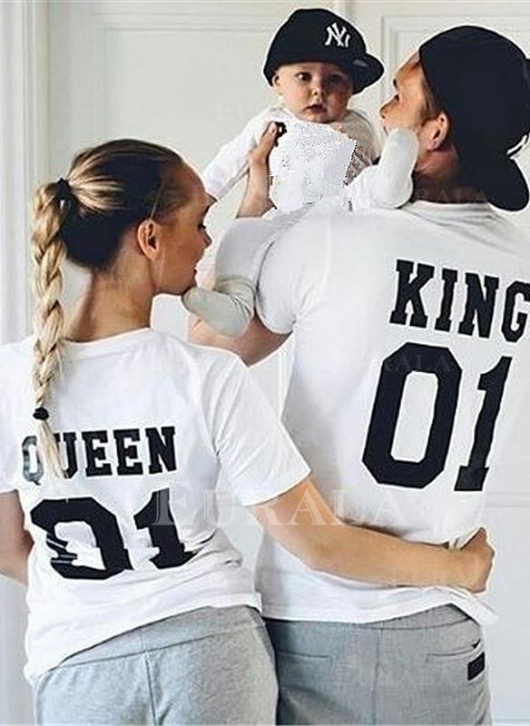 Levél Nyomtatás Családi T-shirt