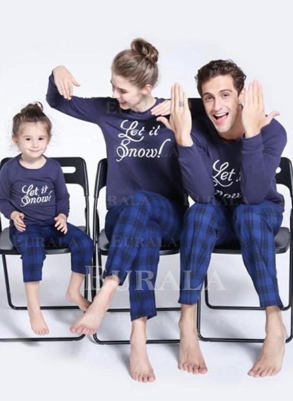 Carouri Literă De Familie Pijamale De Crăciun