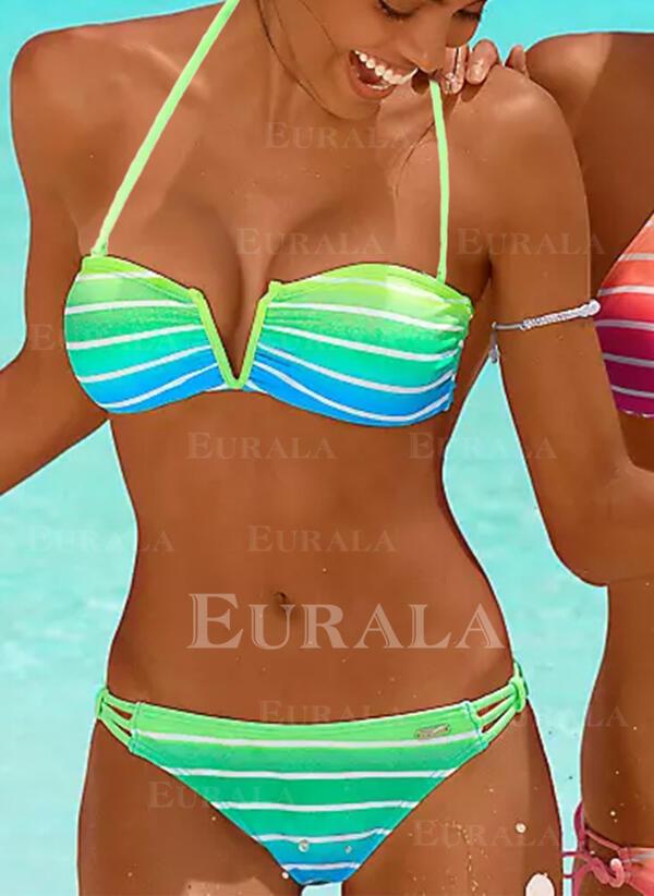 нашивка Цвет соединения Отжимание недоуздок сексуальный Boho Bikinis купальников