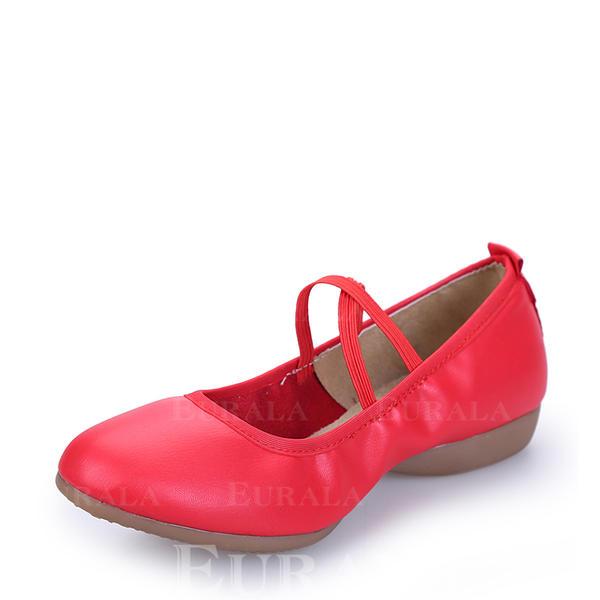 Pentru Femei Pantofi de caracter Teneşi Piele Reală Modern