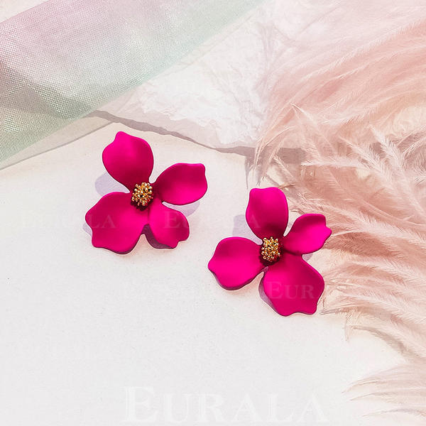 Ötvözet Női divat fülbevalók