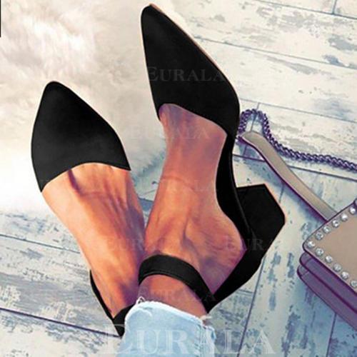 Mulheres Tecido Salto agulha Sandálias com Outros sapatos