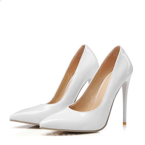 Bayanlar Rugan Topuklu ayakkabı Pompalar ayakkabı