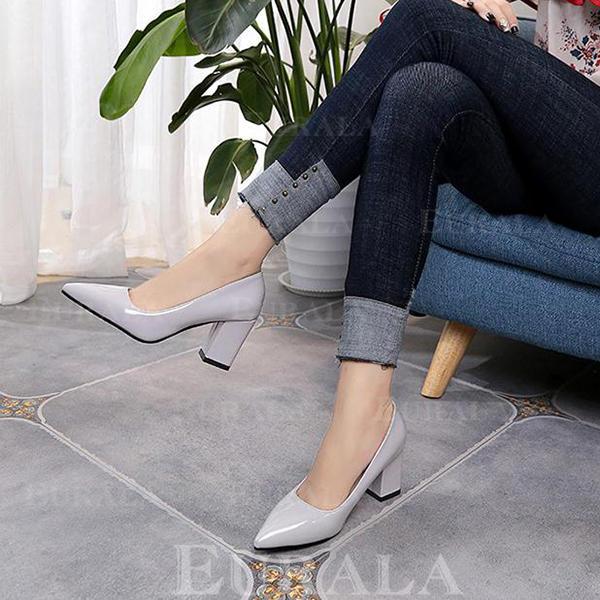 Pentru Femei PU Toc gros Încălţăminte cu Toc Înalt cu Altele pantofi