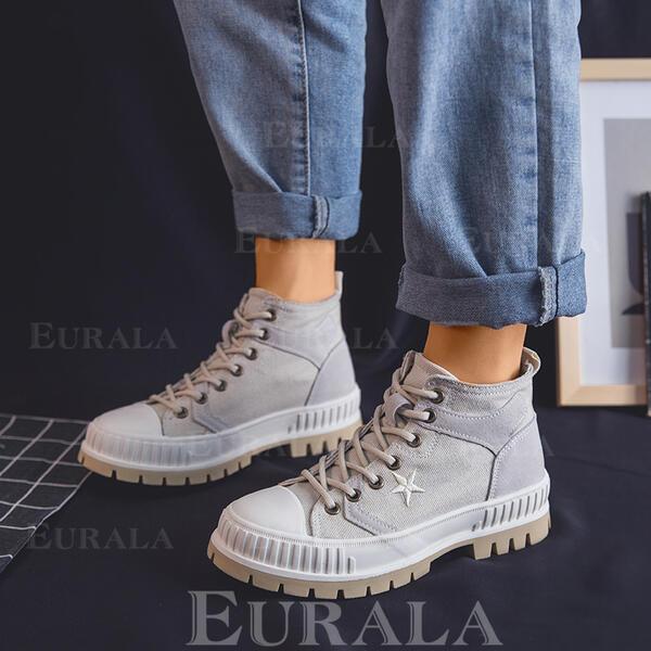 Закрытый носок ботинки Ботильоны Мартин Сапоги с Зашнуровать обувь