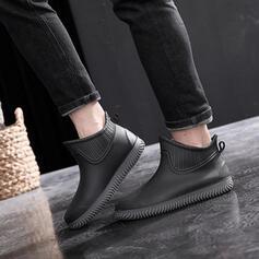 Резинка Низкий каблук Сапоги дождя обувь