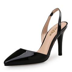 Bayanlar Rugan Topuklu ayakkabı Pompalar Ile Bölünmüş Eklem ayakkabı