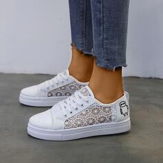 Женский дерматин меш Повседневная на открытом воздухе обувь