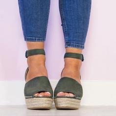 De mujer Ante Tipo de tacón Cerrados con Hebilla zapatos