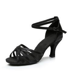 Pentru Femei Latin Tocuri Sandale Imitaţie de Piele Latini