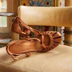 Pentru Femei PU Toc Stiletto Sandale Încălţăminte cu Toc Înalt cu Cataramă pantofi