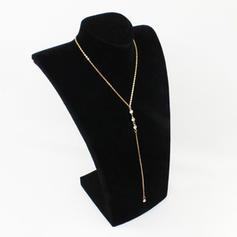 Exquisito Aleación Diamantes de imitación Señoras' Collar de la manera
