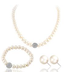 Niza La perla de faux con Perlas de imitación Señoras' Sistemas de la joyería