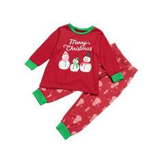 Caricatura Estampado Família Combinando Natal Pijama