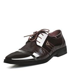 Menn Latin moderne stil Flate sko Microfiber Lær moderne stil