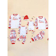 Deer List Wydrukować Rodzinne Dopasowanie Świąteczne piżamy