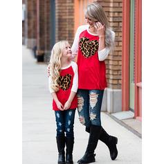 Anya és én Nyomtatás összeillő T-shirt