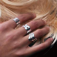 Elegante Liga Senhoras Anéis Moda