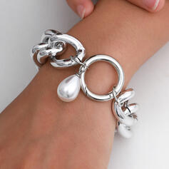Fashionable Sexy Vintage Classic Alloy With Imitation Pearl Women's Ladies' Bracelets 1 PC