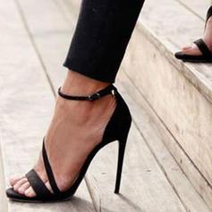 Pentru Femei PU Toc Stiletto Sandale cu Cataramă pantofi