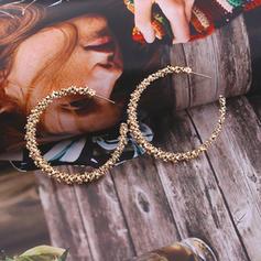 elegant Aliaj Femei moda cercei (Sold in a single piece)