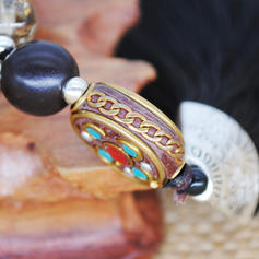 Modny Egzotyczny Klasyczny Stop Koraliki drewniane Dla kobiet Moda Naszyjnik