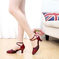 Pentru Femei Sala de Bal Tocuri Sandale Imitaţie de Piele Banchet