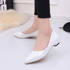 De mujer Cuero Tacón bajo Cerrados zapatos