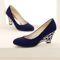 De mujer PU Tipo de tacón Salón Cerrados Cuñas con Otros zapatos