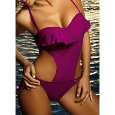 Monokini Push Up Bandage Strap Sexy Eye-catching One-piece Swimsuits