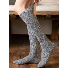 Solid Color Comfortable/Women's/Calf Socks Socks/Stockings