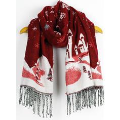 Tassel/Christmas fashion/Multi-functional/Christmas Scarf/Shawl