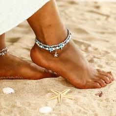 De moda Fresco Aleación Joyas de playa Tobilleras