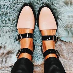 Femmes PU Talon plat Chaussures plates Bout fermé avec Autres chaussures