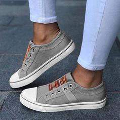 De mujer Lona Casual al aire libre con Material Block zapatos