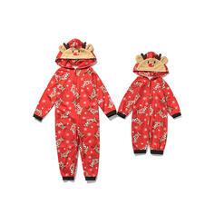 Cerb Imprimeu De Familie Pijamale De Crăciun