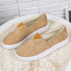 Bayanlar Kumaş Düz topuk Flats ayakkabı