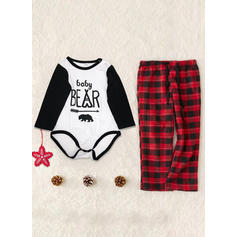 Letter Familie matchende Pyjamas