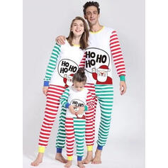 W Paski Rodzinne Dopasowanie Świąteczne piżamy