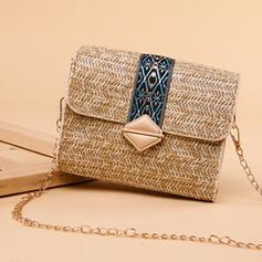 Classical/Vintga/Stripe/Bohemian Style/Simple Shoulder Bags