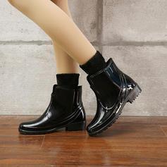 Pentru Femei PVC Toc jos Cizme Cizme de Ploaie cu Altele pantofi