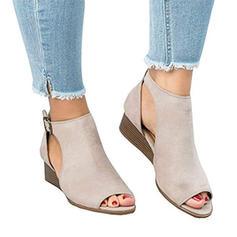 Pentru Femei Ţesătură Toc jos Sandale cu Altele pantofi