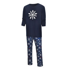 Impresión Familia a juego Pijamas De Navidad