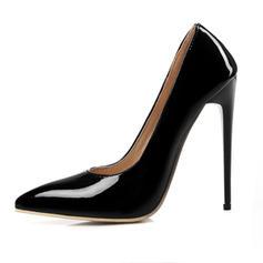 Pentru Femei Piele Breveta Toc Stiletto Încălţăminte cu Toc Înalt pantofi