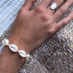 Skall med Skall Armbånd Strand smykker