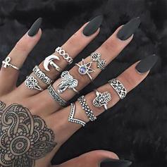 Fashionable Alloy Acrylic With Acrylic Women's Rings