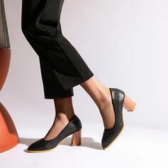 Dla kobiet PU Obcas Slupek Czólenka Z Nadruk Zwierzęcy obuwie