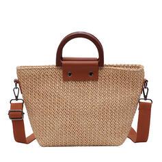 элегантный/фешенебельный/Богемный стиль/плетеный Большие сумки/Пляжные сумки