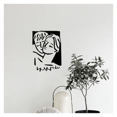 Moderno Vertical Pessoas Adesivos de parede