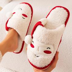 Mulheres Imitação de pele Sem salto Sandálias Chinelos com Aplicação Animal da Cópia Pele sapatos